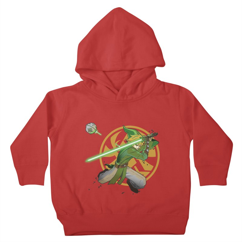 May Link be with you always Kids Toddler Pullover Hoody by cherished