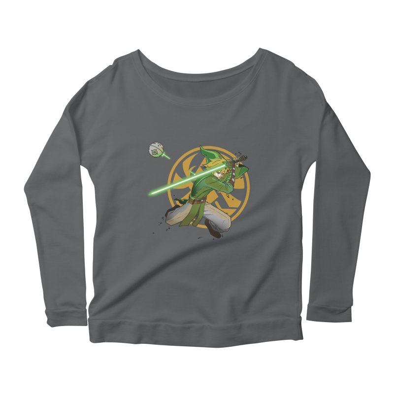 May Link be with you always Women's Longsleeve Scoopneck  by cherished