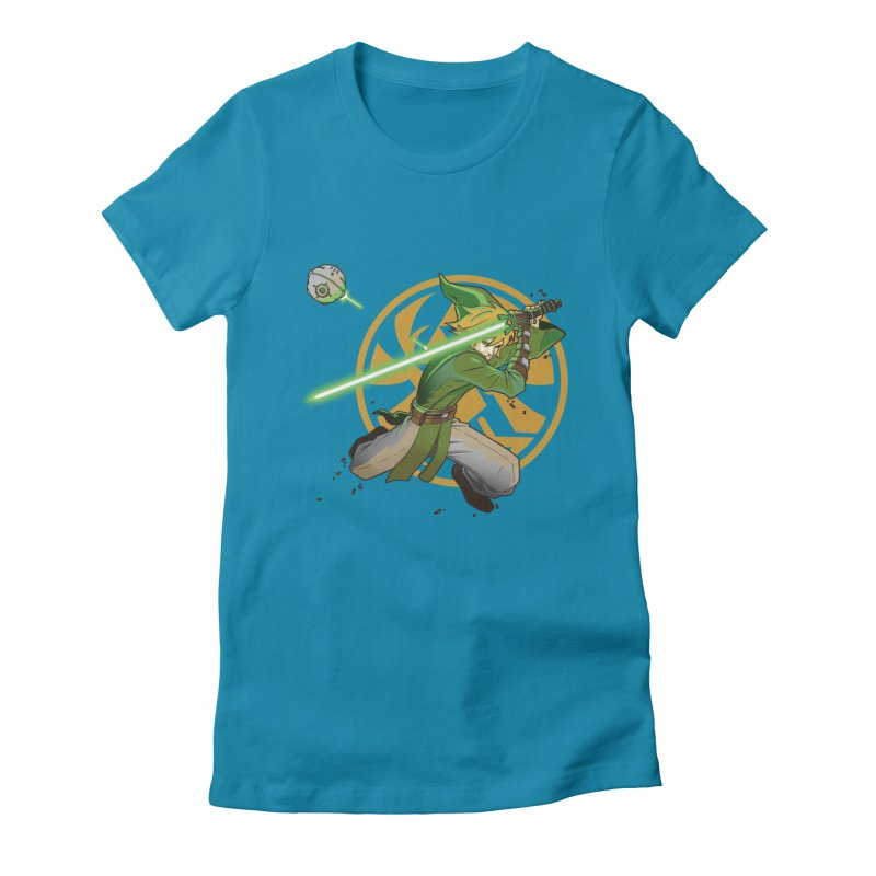 May Link be with you always Women's Fitted T-Shirt by cherished