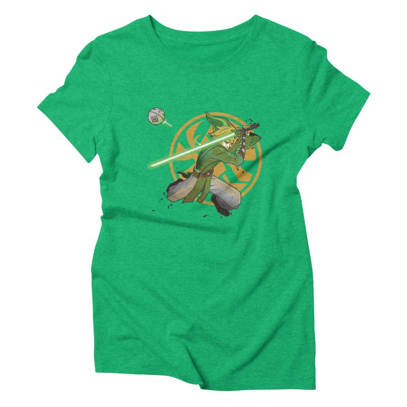 May Link be with you always Women's Triblend T-Shirt by cherished