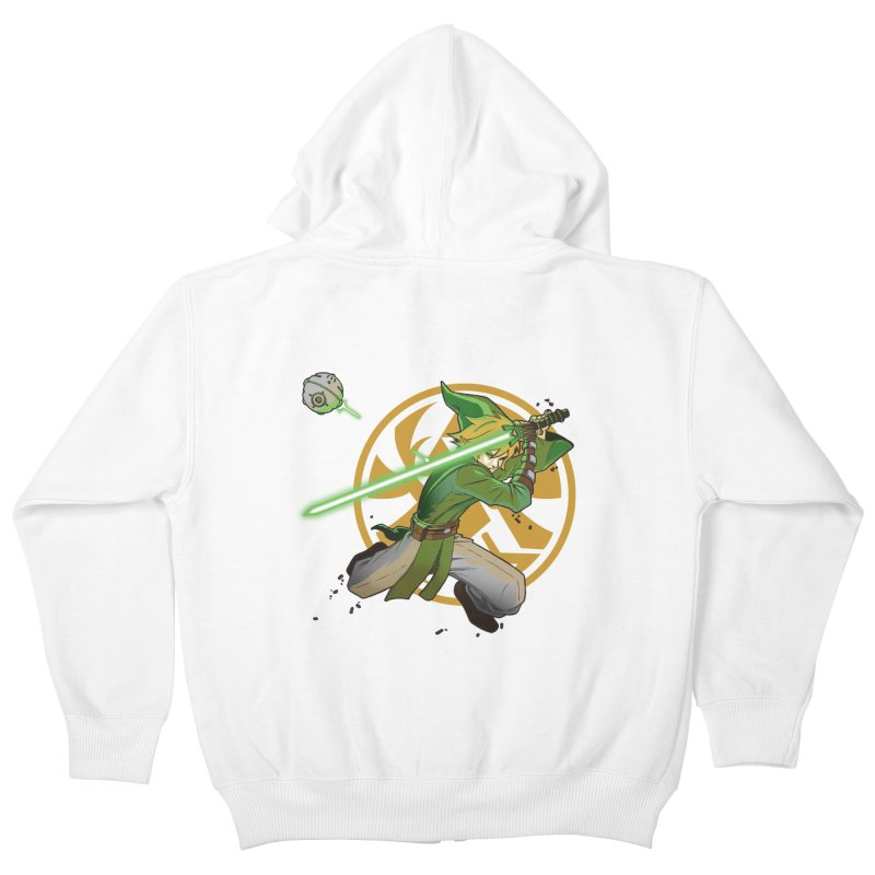 May Link be with you always Kids Zip-Up Hoody by cherished