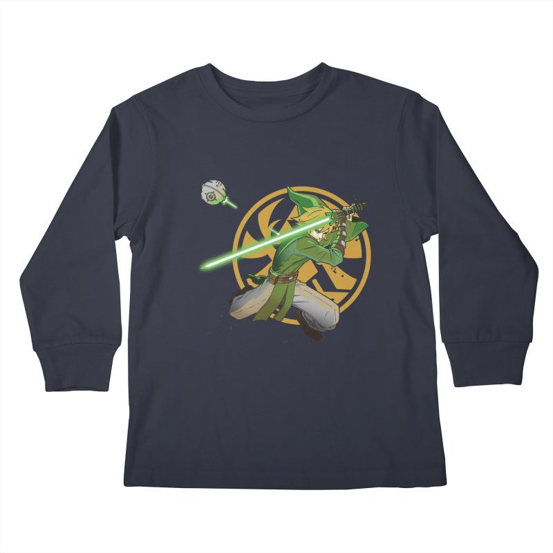 May Link be with you always Kids Longsleeve T-Shirt by cherished