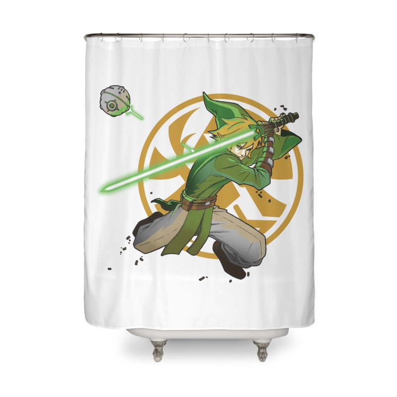May Link be with you always Home Shower Curtain by cherished