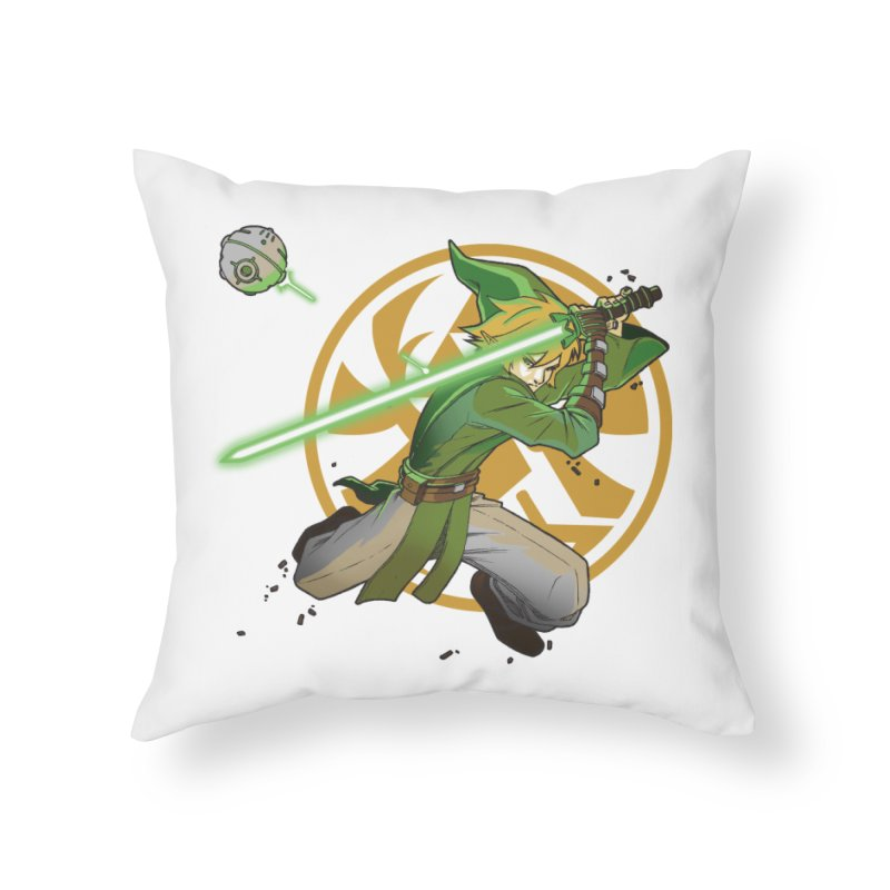 May Link be with you always Home Throw Pillow by cherished
