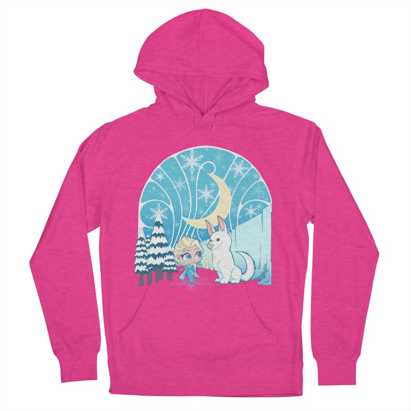 Would you like to make a snowdog? Women's Pullover Hoody by cherished