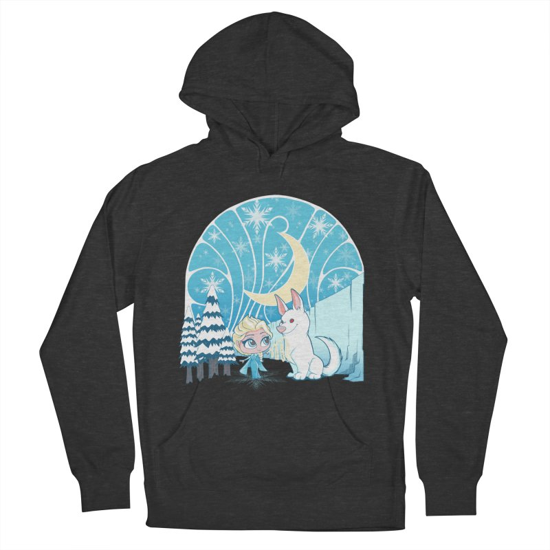 Would you like to make a snowdog? Men's Pullover Hoody by cherished