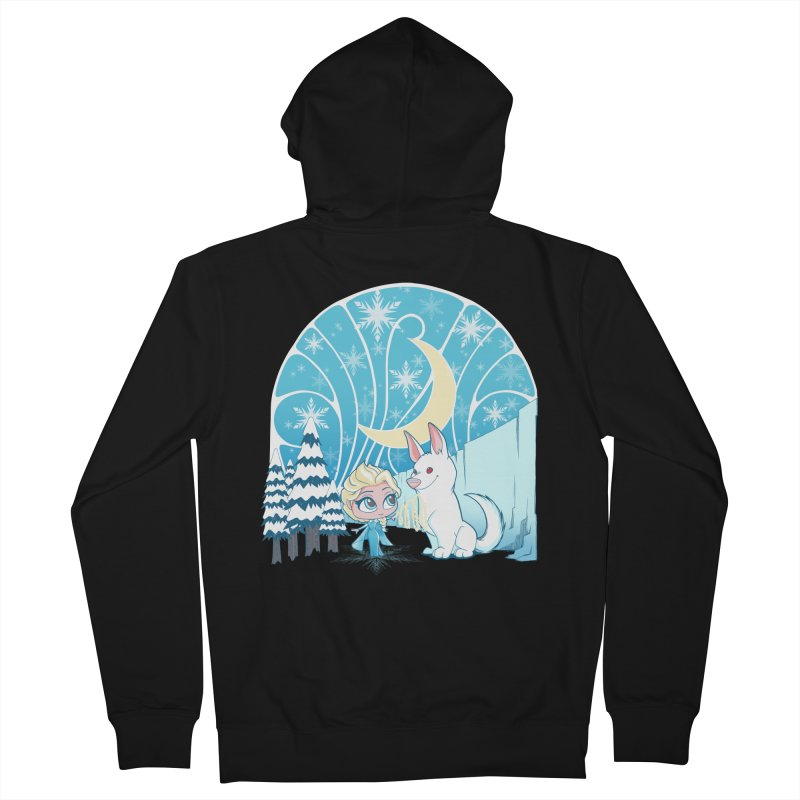 Would you like to make a snowdog? Women's Zip-Up Hoody by cherished