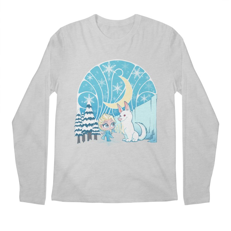 Would you like to make a snowdog? Men's Longsleeve T-Shirt by cherished