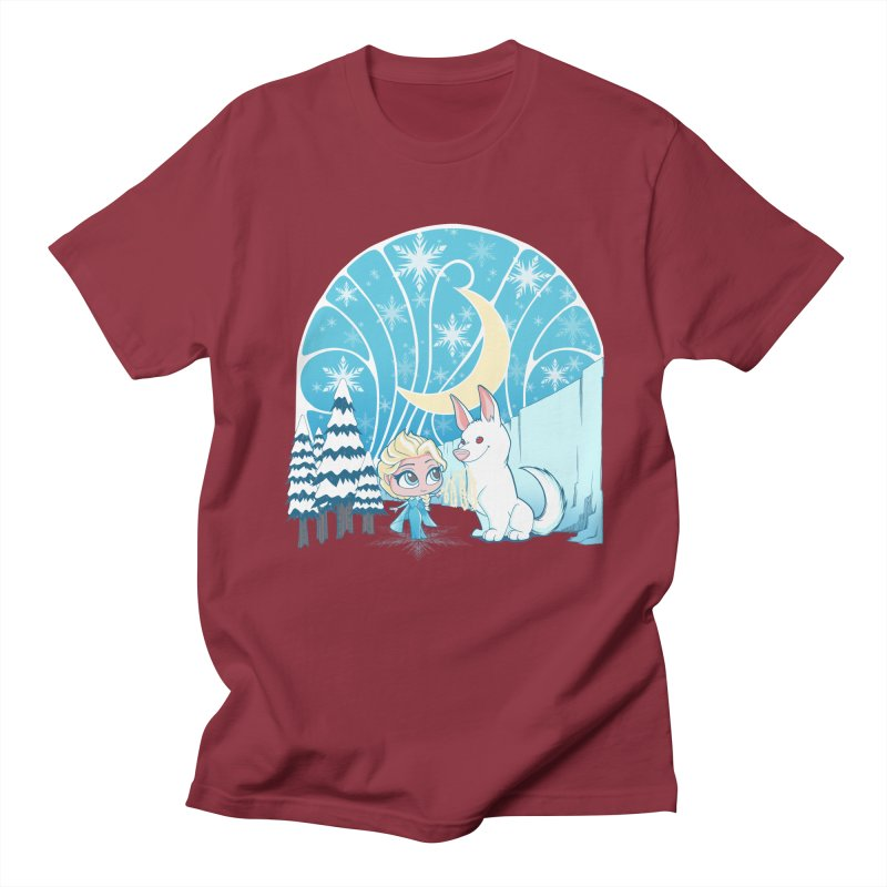 Would you like to make a snowdog? Men's T-Shirt by cherished