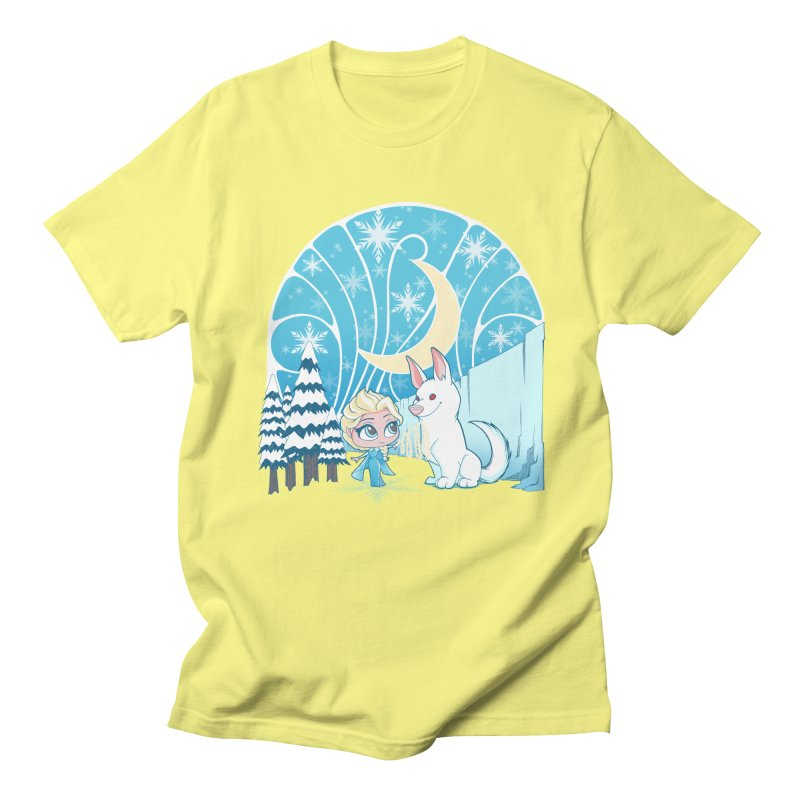 Would you like to make a snowdog? Women's Unisex T-Shirt by cherished