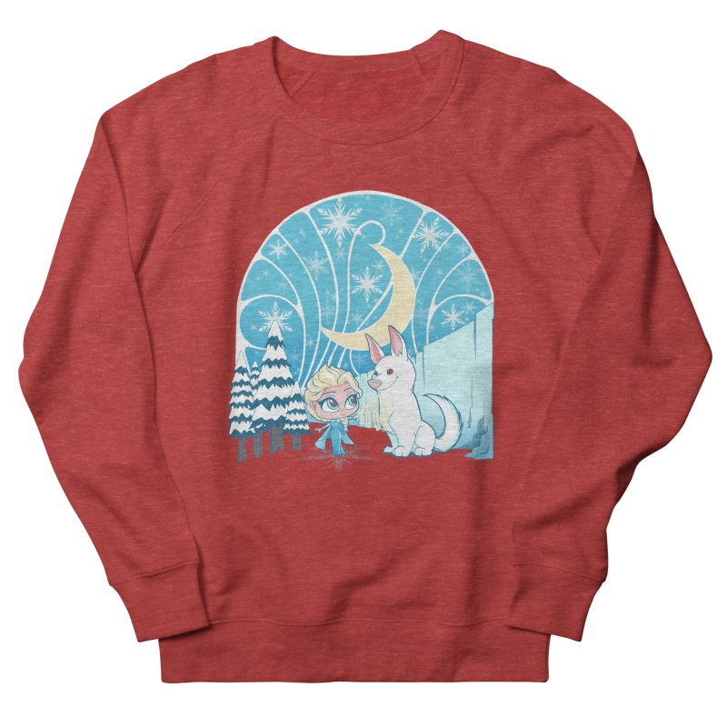 Would you like to make a snowdog? Women's Sweatshirt by cherished