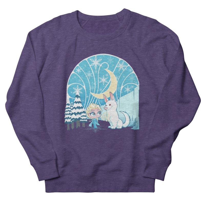 Would you like to make a snowdog? Men's Sweatshirt by cherished