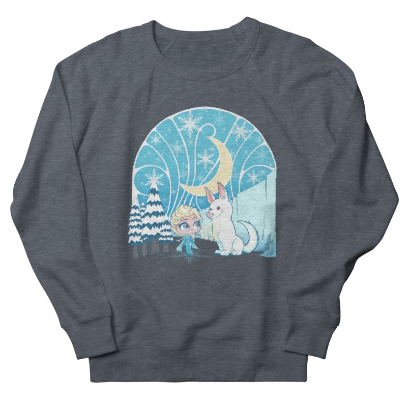 Would you like to make a snowdog? Men's Sweatshirt by cherished
