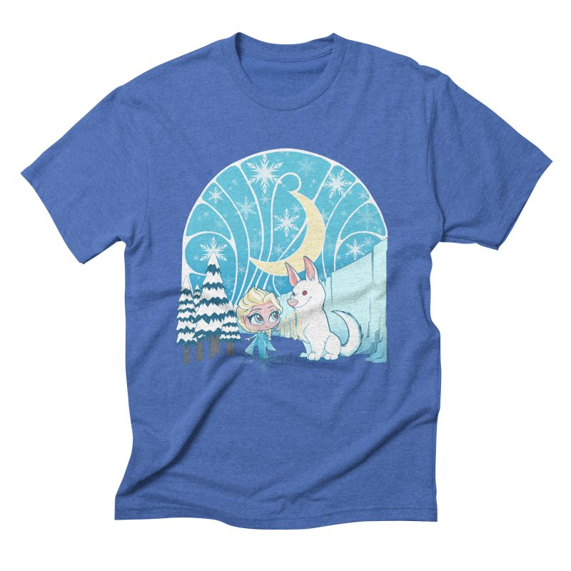 Would you like to make a snowdog? Men's Triblend T-Shirt by cherished
