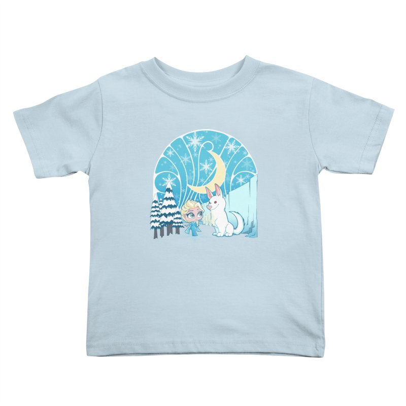 Would you like to make a snowdog? Kids Toddler T-Shirt by cherished