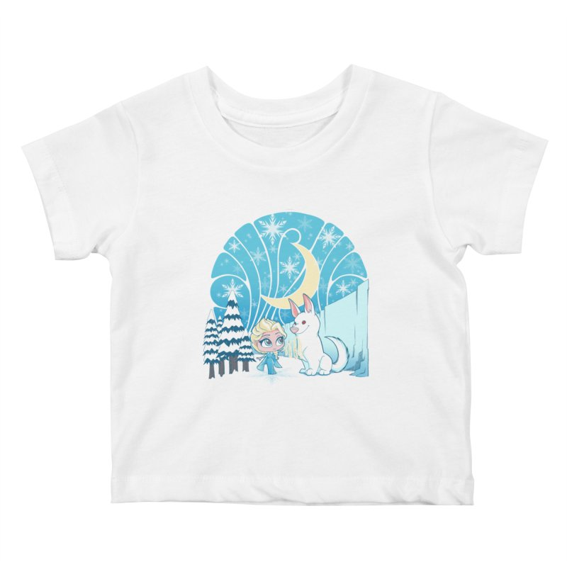 Would you like to make a snowdog? Kids Baby T-Shirt by cherished