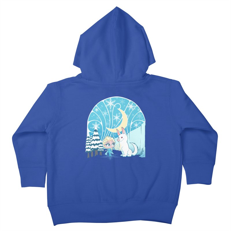 Would you like to make a snowdog? Kids Toddler Zip-Up Hoody by cherished