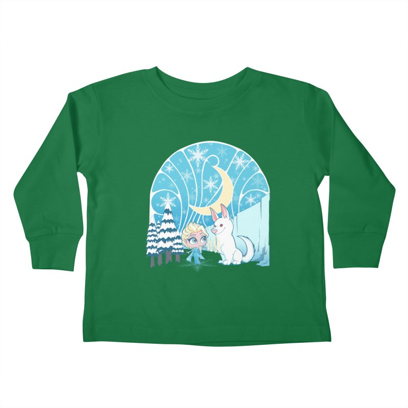 Would you like to make a snowdog? Kids Toddler Longsleeve T-Shirt by cherished