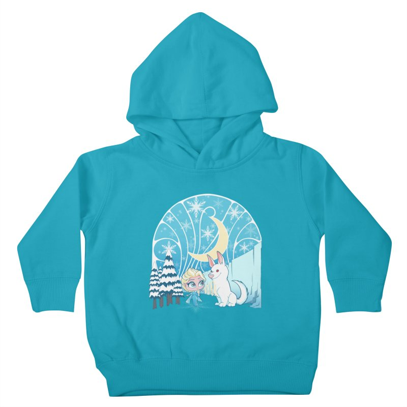 Would you like to make a snowdog? Kids Toddler Pullover Hoody by cherished