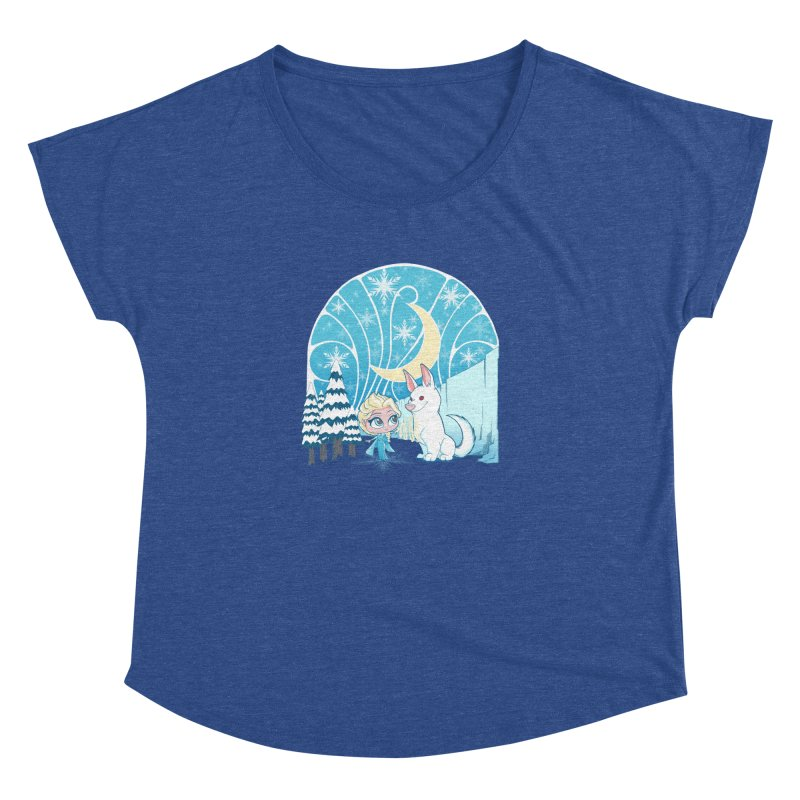 Would you like to make a snowdog? Women's Dolman by cherished