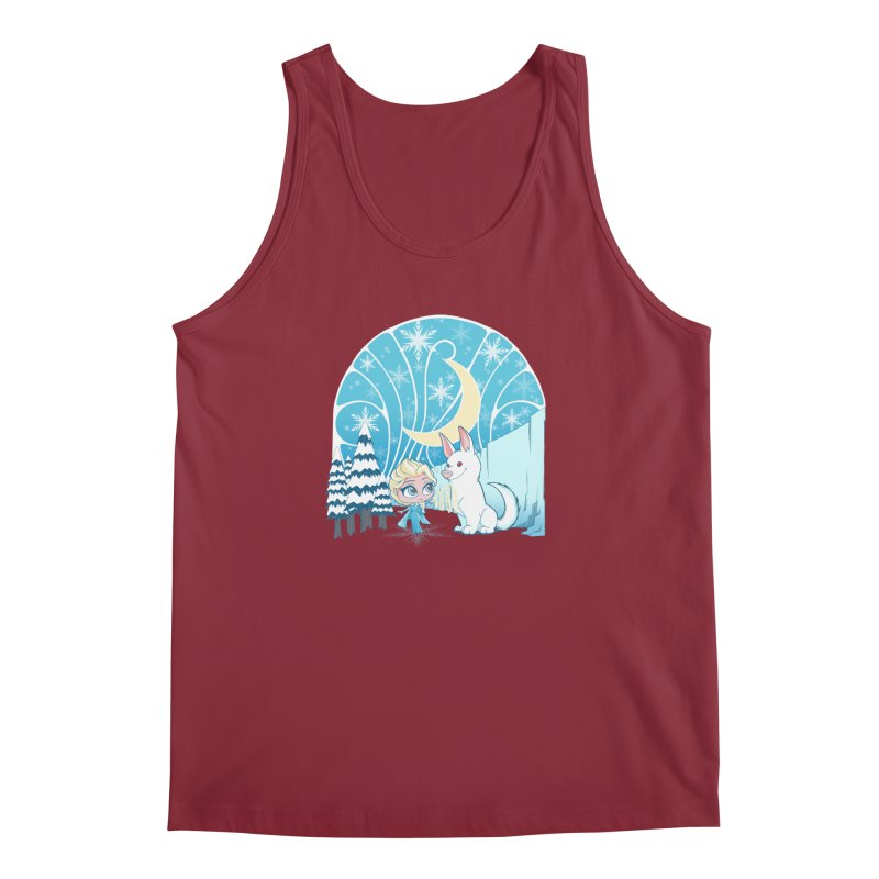 Would you like to make a snowdog? Men's Tank by cherished
