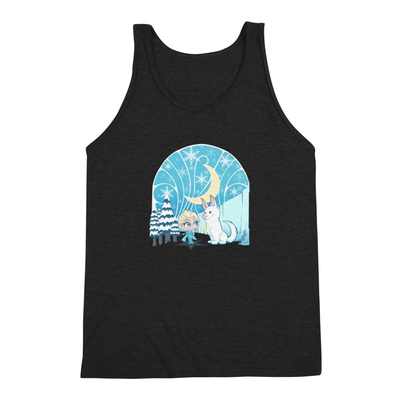 Would you like to make a snowdog? Men's Triblend Tank by cherished
