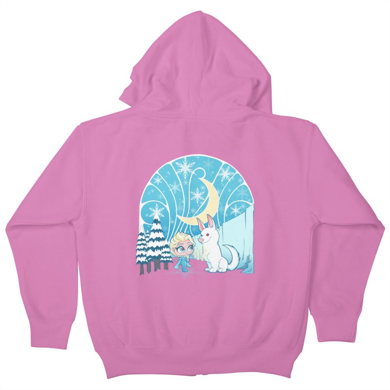 Would you like to make a snowdog? Kids Zip-Up Hoody by cherished