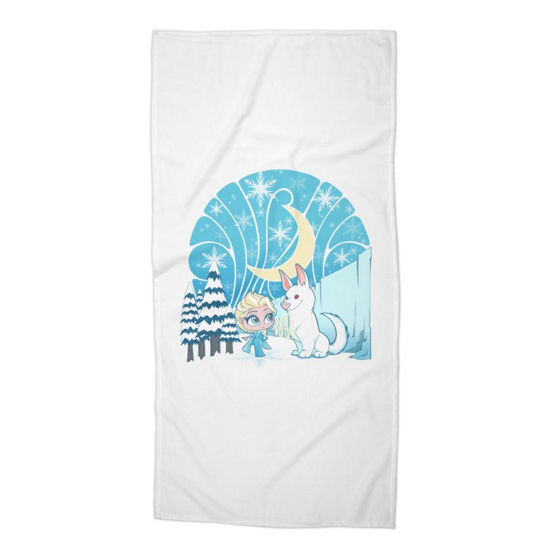 Would you like to make a snowdog? Accessories Beach Towel by cherished