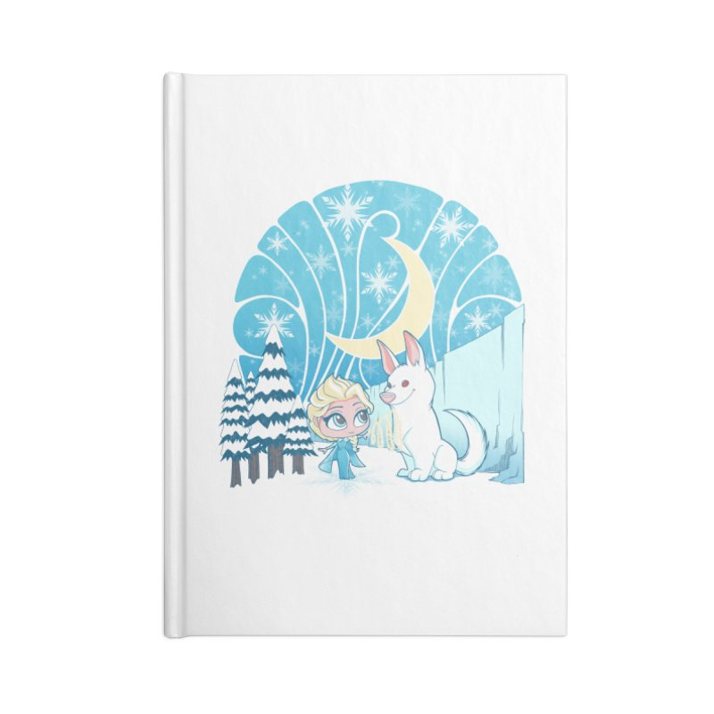 Would you like to make a snowdog? Accessories Notebook by cherished