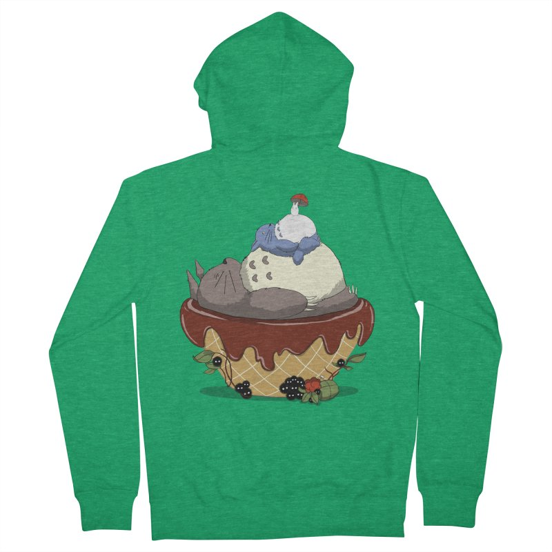 Forest Pudding Men's Zip-Up Hoody by cherished