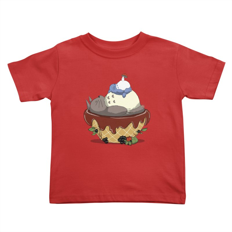 Forest Pudding Kids Toddler T-Shirt by cherished