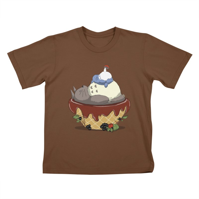 Forest Pudding Kids T-Shirt by cherished