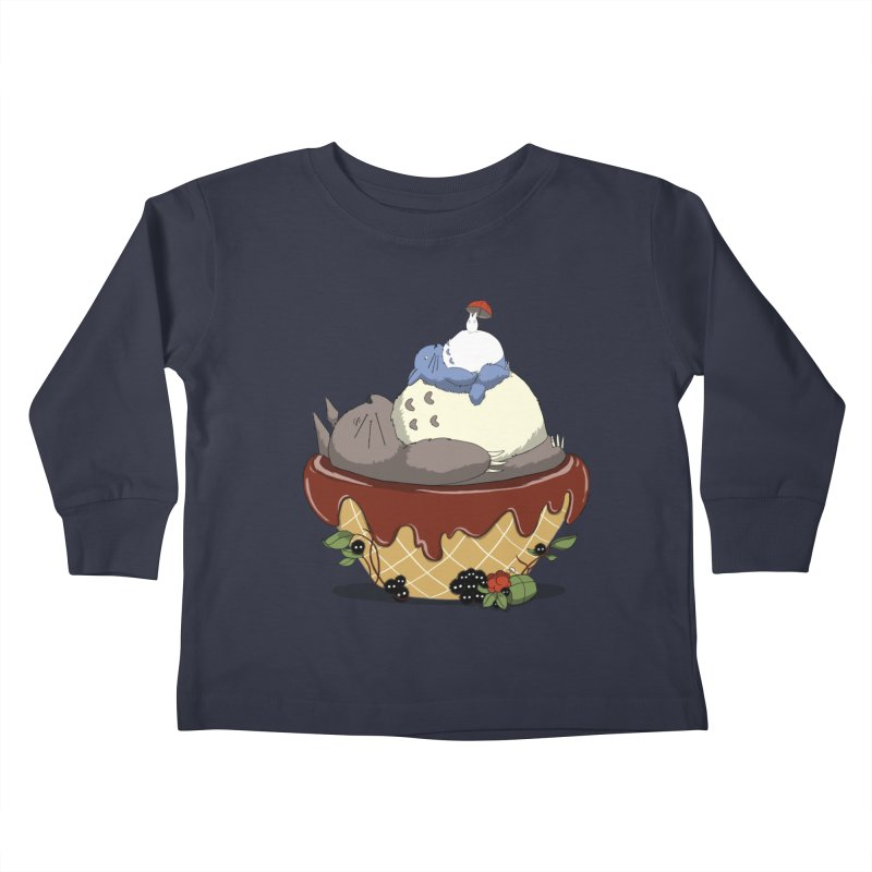 Forest Pudding Kids Toddler Longsleeve T-Shirt by cherished