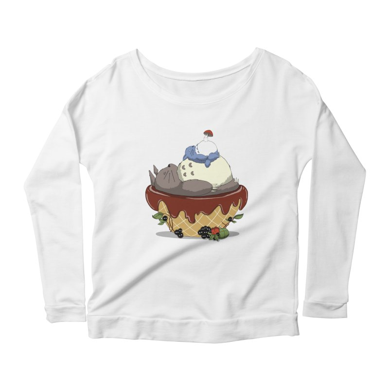 Forest Pudding Women's Longsleeve Scoopneck  by cherished