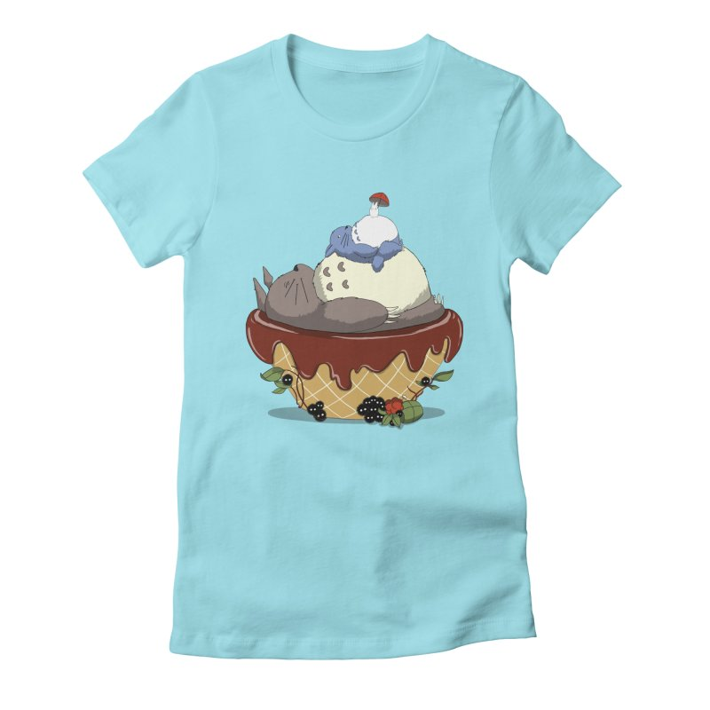 Forest Pudding Women's Fitted T-Shirt by cherished