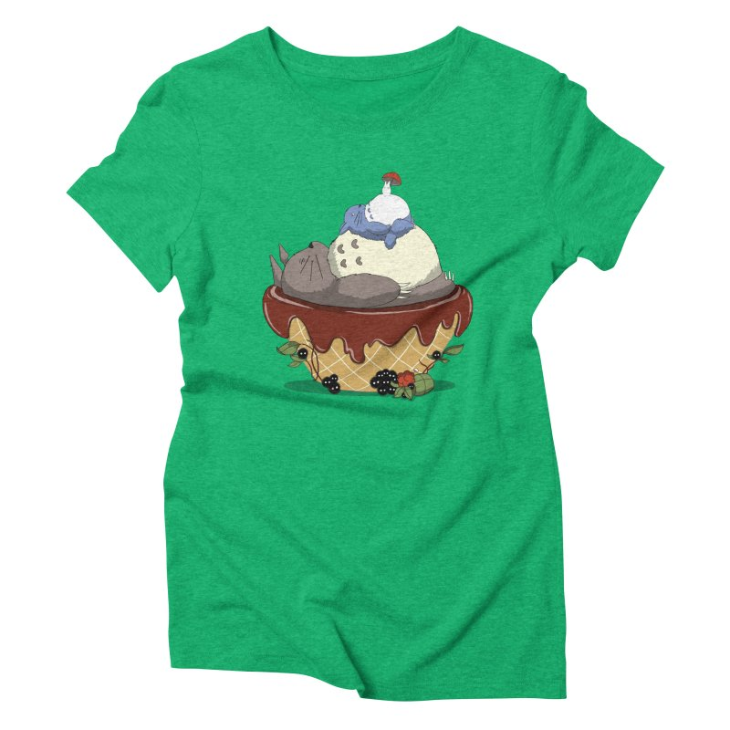 Forest Pudding Women's Triblend T-Shirt by cherished