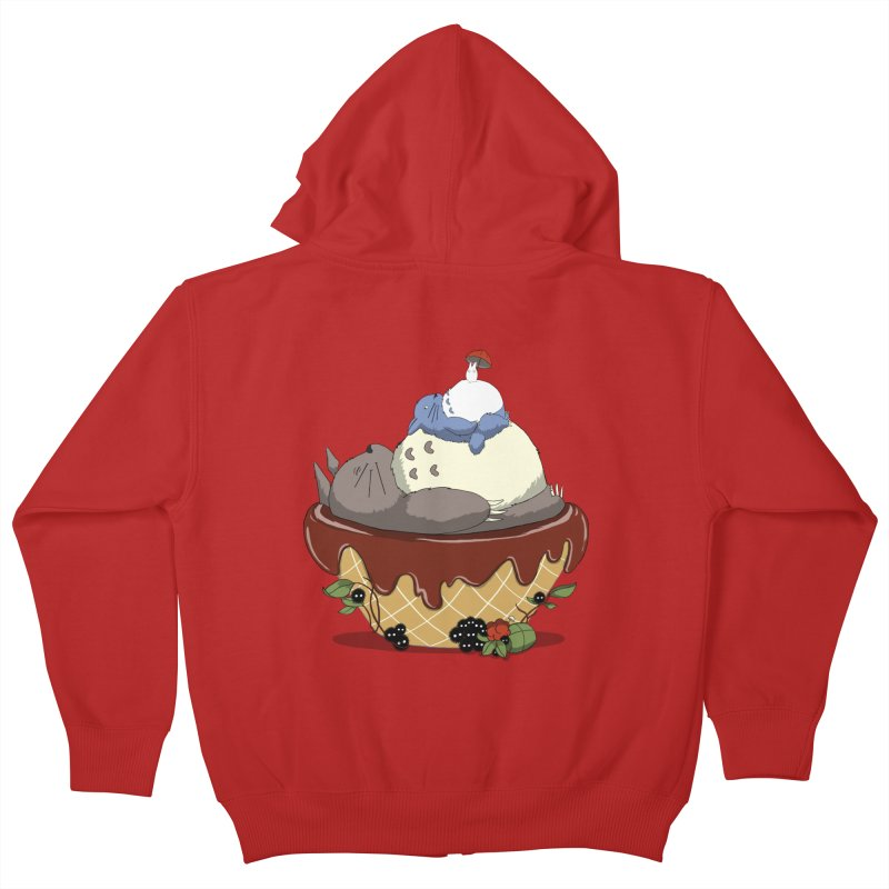 Forest Pudding Kids Zip-Up Hoody by cherished