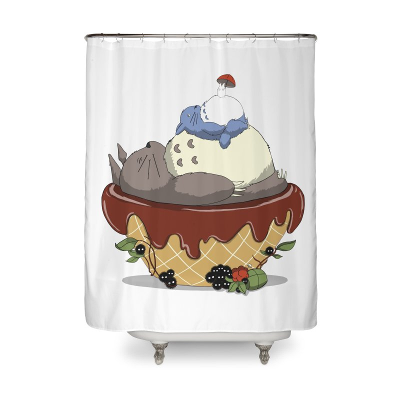 Forest Pudding Home Shower Curtain by cherished