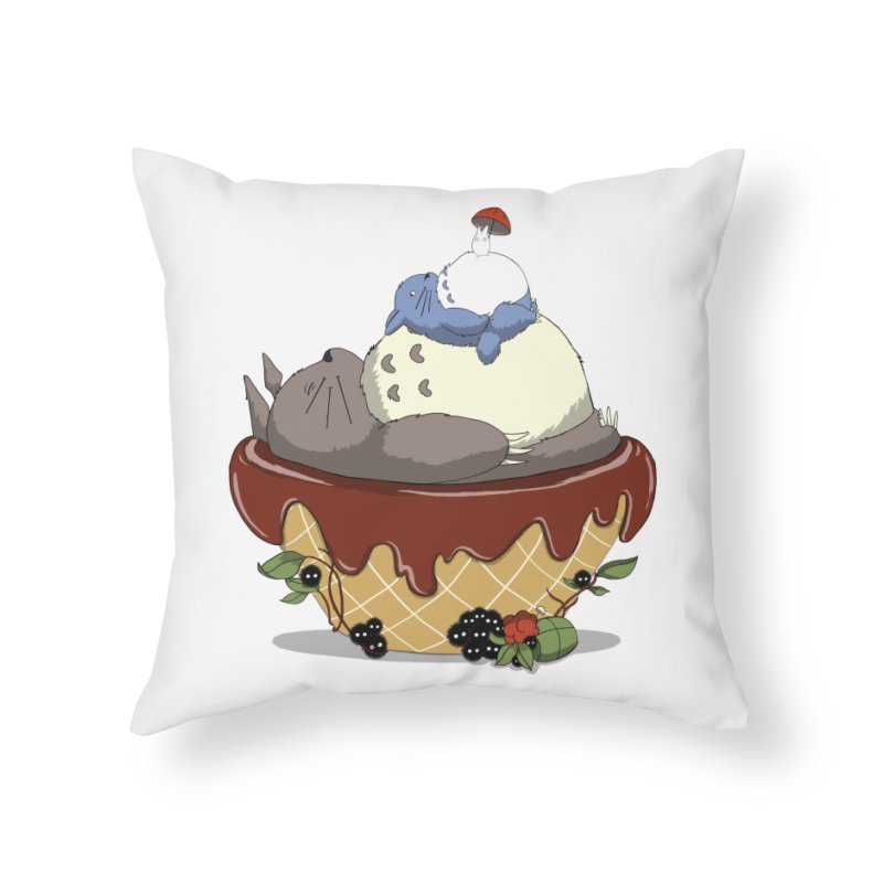 Forest Pudding Home Throw Pillow by cherished