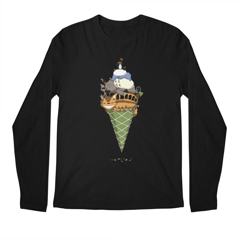 Matcha Forest Gelato Men's Longsleeve T-Shirt by cherished