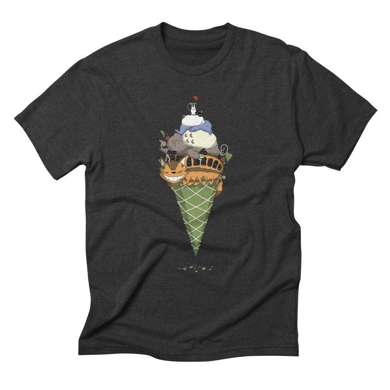 Matcha Forest Gelato Men's Triblend T-Shirt by cherished