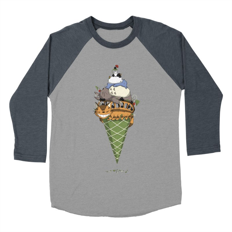 Matcha Forest Gelato Women's Baseball Triblend T-Shirt by cherished