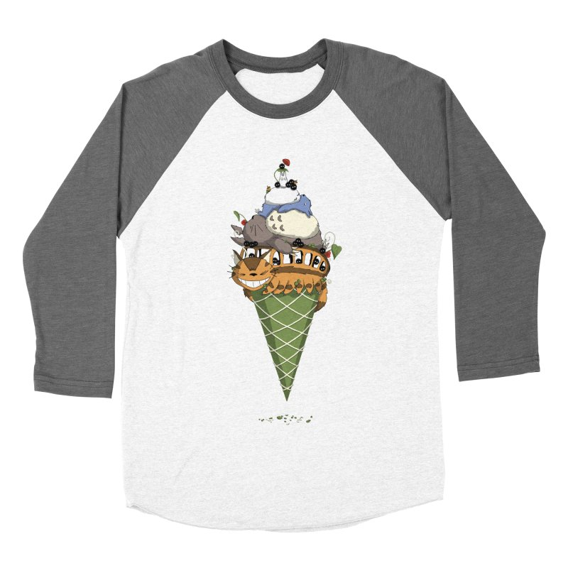 Matcha Forest Gelato Men's Baseball Triblend T-Shirt by cherished
