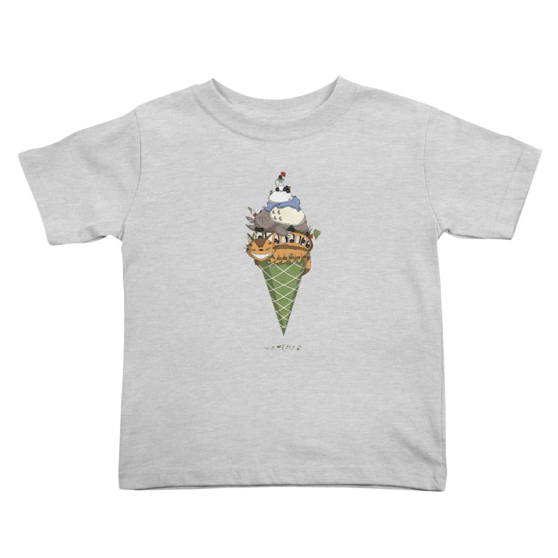 Matcha Forest Gelato Kids Toddler T-Shirt by cherished