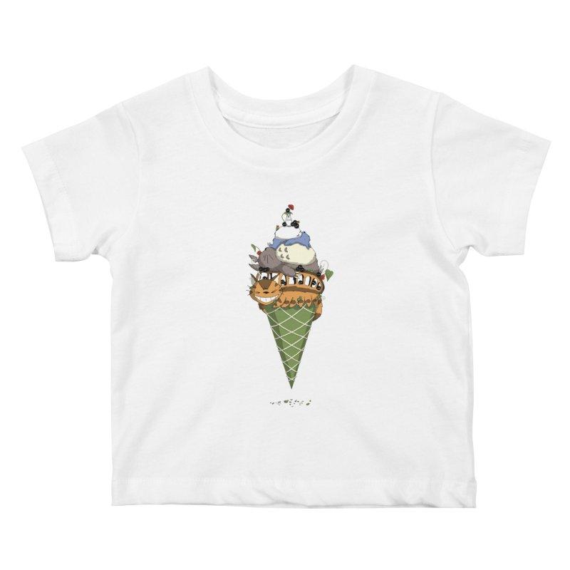 Matcha Forest Gelato Kids Baby T-Shirt by cherished
