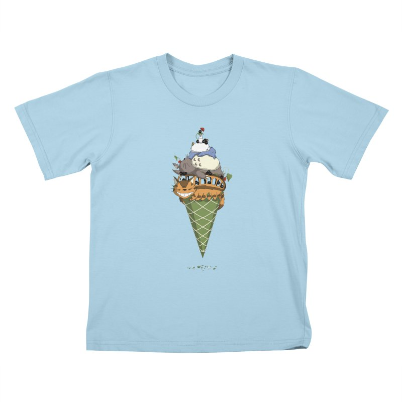 Matcha Forest Gelato Kids T-Shirt by cherished