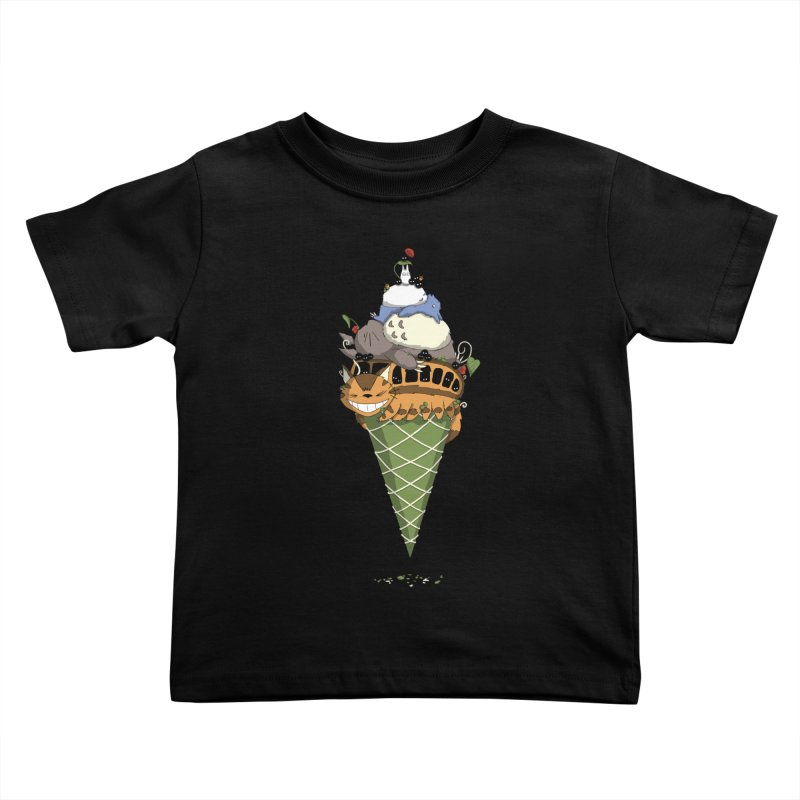 Matcha Forest Gelato Kids Toddler T-Shirt by cherished