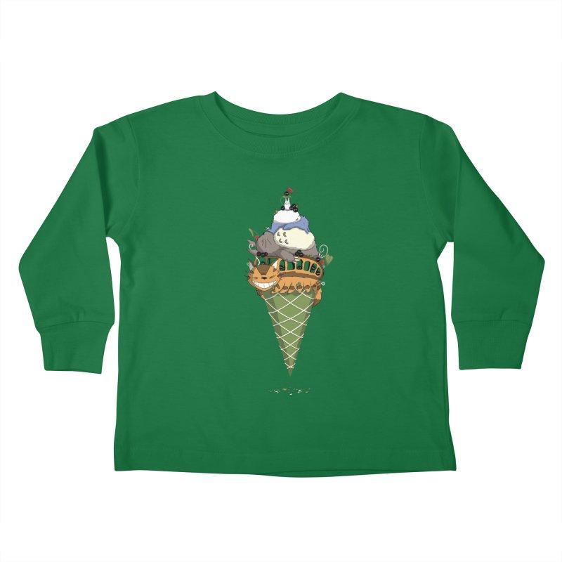 Matcha Forest Gelato Kids Toddler Longsleeve T-Shirt by cherished