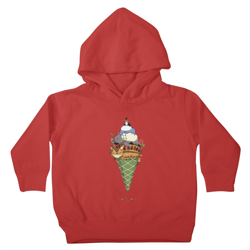 Matcha Forest Gelato Kids Toddler Pullover Hoody by cherished