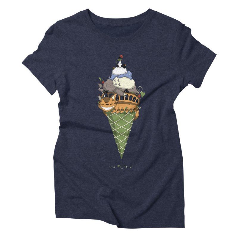 Matcha Forest Gelato Women's Triblend T-Shirt by cherished